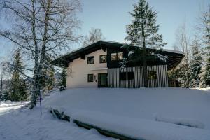 Landhaus Blaubeerhügel im Winter