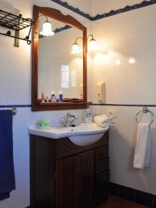 Ein Badezimmer in der Unterkunft Sur