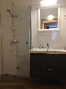 Ein Badezimmer in der Unterkunft Ferienapartments Sonnenhof