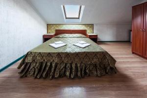 Кровать или кровати в номере Гостевой дом Анапа-Патио