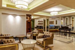 Лаундж или бар в Beethoven Senfoni Hotel