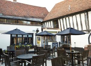 A restaurant or other place to eat at Bull Hotel by Greene King Inns