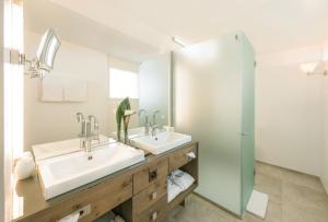 A bathroom at Hotel Matthiol