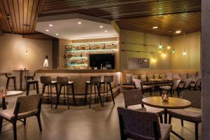 Lounge oder Bar in der Unterkunft Seminaris Hotel Lüneburg
