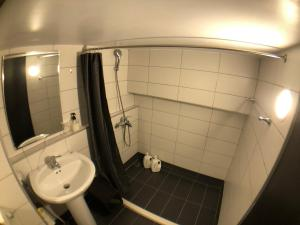 A bathroom at 西門町 Fang House Apart-ment Yellow