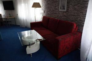 A seating area at Hotel Haarener Hof