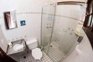 A bathroom at Pousada Tambayba