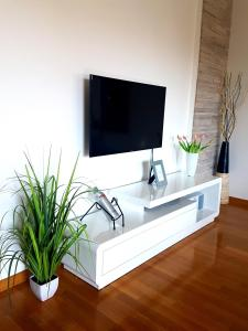 A television and/or entertainment centre at Apartment Rio