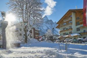 Hotel Stern im Winter