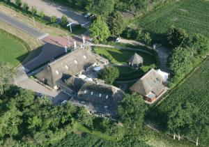 A bird's-eye view of Hotel Restaurant Ter Linde