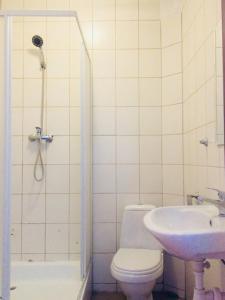Łazienka w obiekcie GoldenHorse