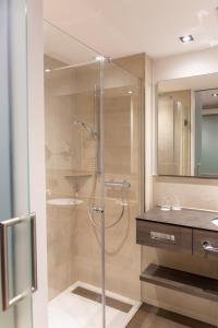 A bathroom at Hotel Sacher-Stoiber