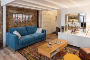 Coin salon dans l'établissement DIFY Bear & Co - Hotel de Ville