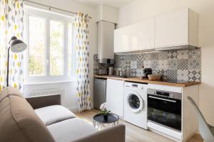 Cuisine ou kitchenette dans l'établissement DIFY Coeur de Lyon - Part Dieu