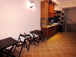 Гостиная зона в Guest House Elling Solnechniy
