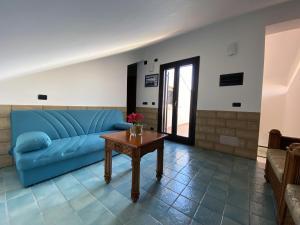 Area soggiorno di Hotel Capo Campolato