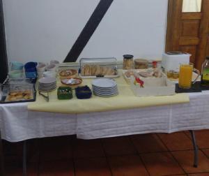 Opciones de desayuno disponibles en HOTEL RURAL SIERRA DE FRANCIA
