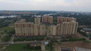 A bird's-eye view of Апартаменты недалеко от аэропорта Шереметьево, МЦД D-1