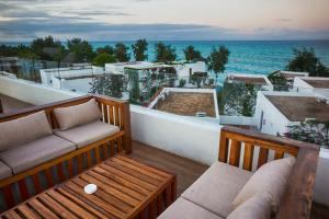 A balcony or terrace at Nungwi Dreams by Mantis
