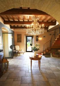 A seating area at Molino Di Foci