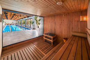 The swimming pool at or near Lopota Lake Resort & Spa