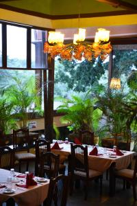 A restaurant or other place to eat at Masai Lodge