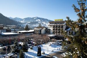 Sporthotel Royer during the winter