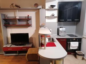 Кухня или кухненски бокс в Comfy in Kapana Creative District Top Center
