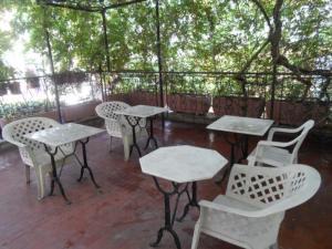 A balcony or terrace at Hotel Paisiello Parioli