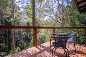 A balcony or terrace at Kondalilla Eco Resort
