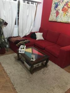 Un lugar para sentarse en Alojamiento Magic