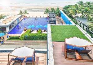 A view of the pool at Ace of Hua Hin Resort or nearby