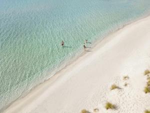Vista aerea di Sani Beach