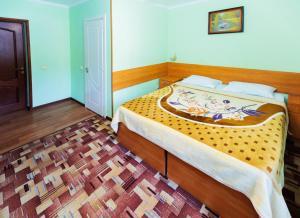 Кровать или кровати в номере Гостиница Москва