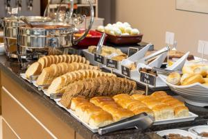 Breakfast options available to guests at Hotel Negrini
