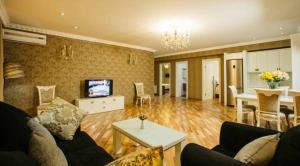 A seating area at Kobuleti Pearl Of Sea Hotel & Spa