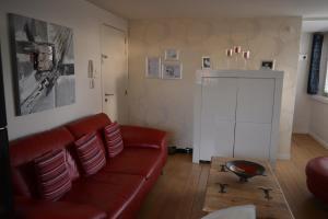 A seating area at Maison Anna Clara