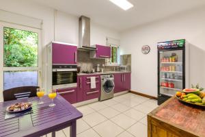 Cuisine ou kitchenette dans l'établissement Tipalais