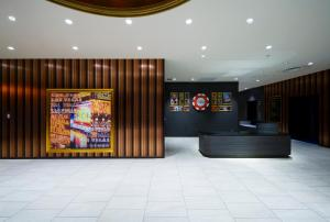 The lobby or reception area at The Park Front Hotel at Universal Studios Japan