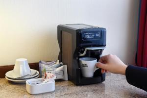 Kaffee-/Teezubehör in der Unterkunft Hotel Glärnischhof