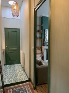 Salle de bains dans l'établissement Le Boudoir Tropical