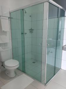 A bathroom at Amazon Plaza Hotel