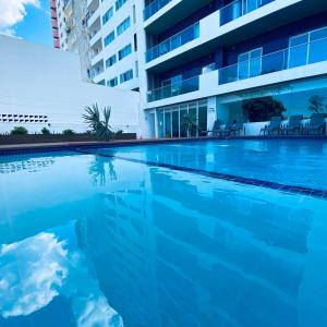 The swimming pool at or near Xenon Urban Apartments