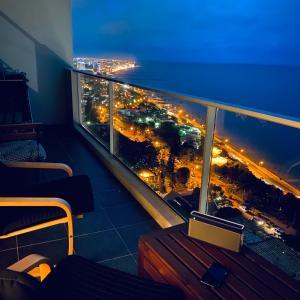 A balcony or terrace at Xenon Urban Apartments