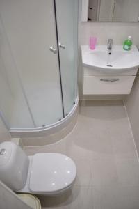 A bathroom at 1 комнатные апартаменты на Абая 138