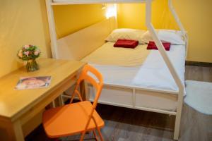 Кровать или кровати в номере High Level Hostel