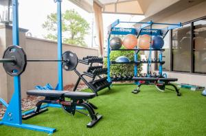 The fitness center and/or fitness facilities at Crowne Plaza Hotel Executive Center Baton Rouge, an IHG hotel