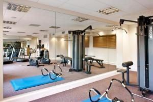 The fitness center and/or fitness facilities at Crowne Plaza Dublin Airport