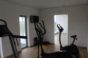 O centro de fitness e/ou as comodidades de fitness de Sesmarias Turismo Rural & SPA