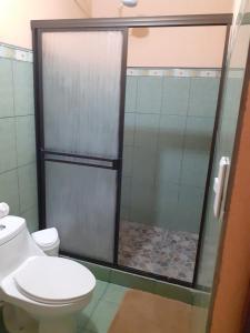 A bathroom at Hotel Martha